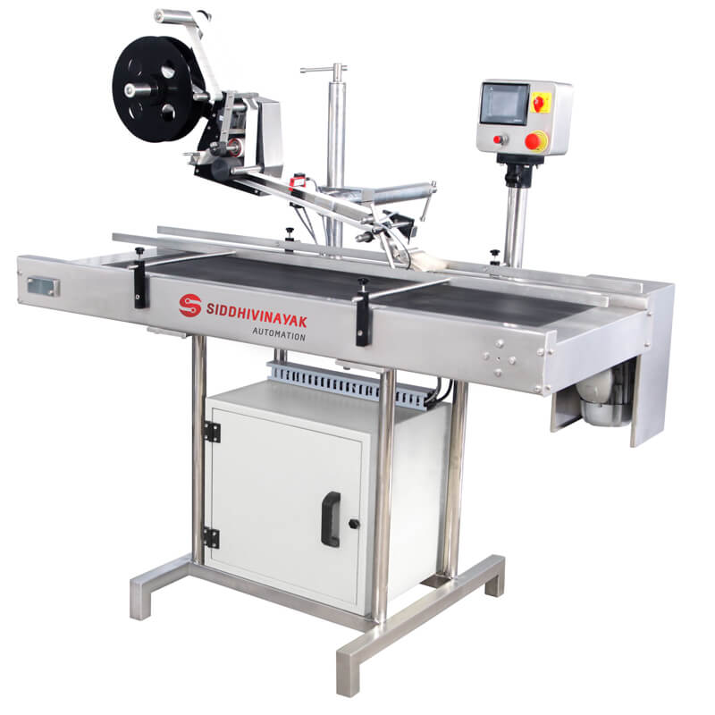 Automatic Top Bottom Labeling Machine